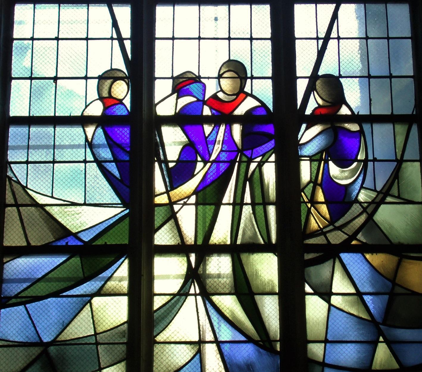 Windows Église Saint Jean, Caen, by Danièle Perre