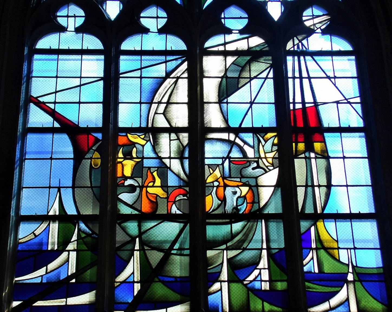 Windows Église Saint Jean, Caen by Danièle Perre