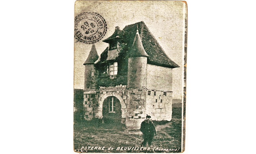 The wandering gatehouse of Beuvillers, Calvados