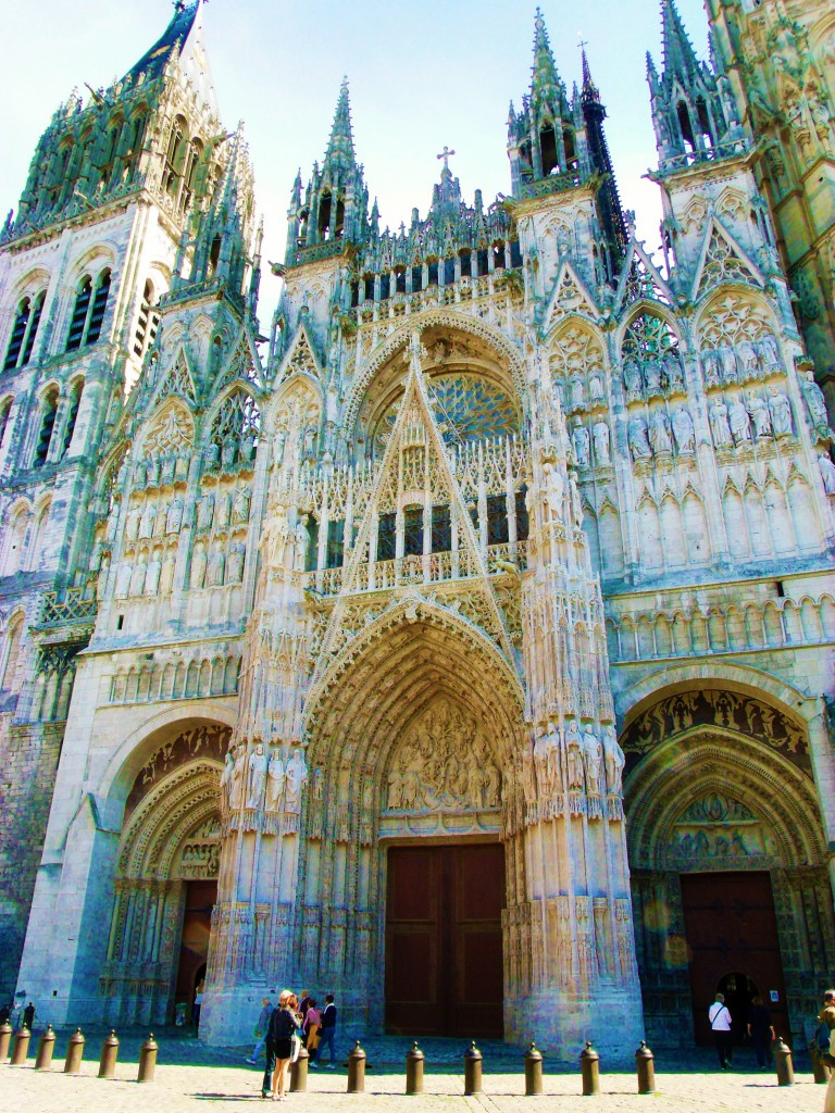 Our match! Rouen cathedral