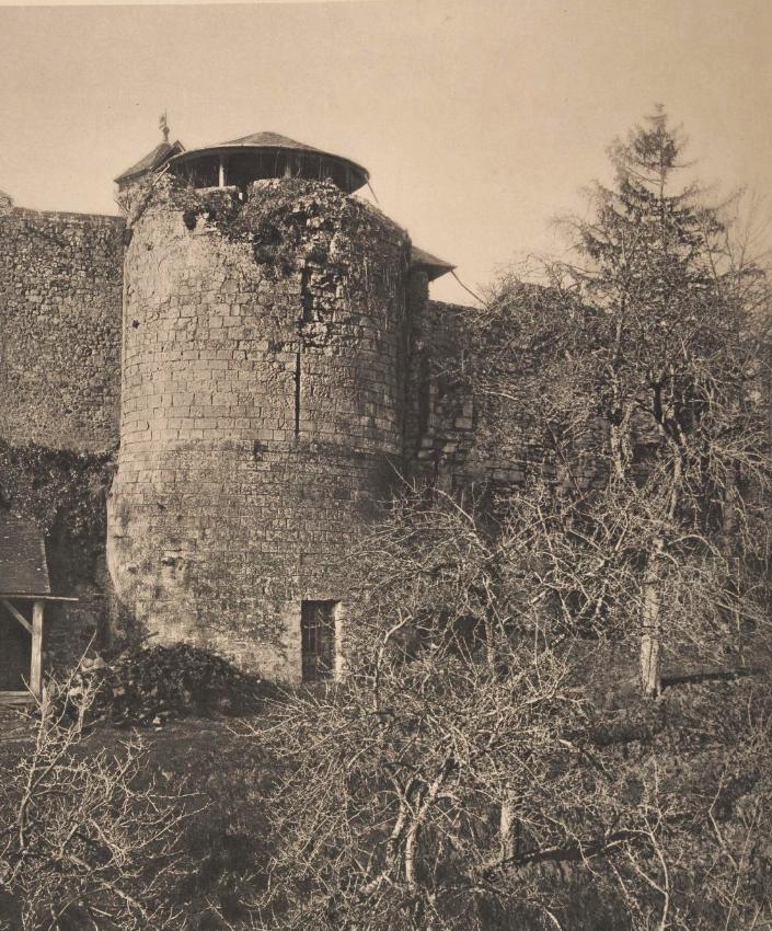 North tower, Le château de Bonneville-sur-Touques
