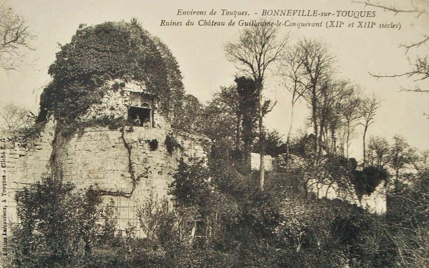 Ruins, Le château de Bonneville-sur-Touques