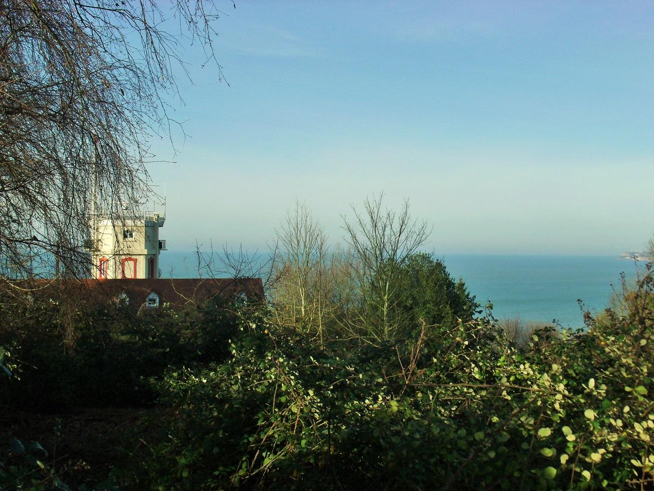 View from the garden, Le Manoir des Creusniers