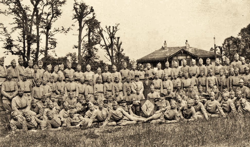 The 104 Infantry, Argentan. More than one quarter will not return home.