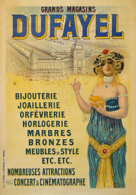 DUFAYEL Barbes PARIS affiche