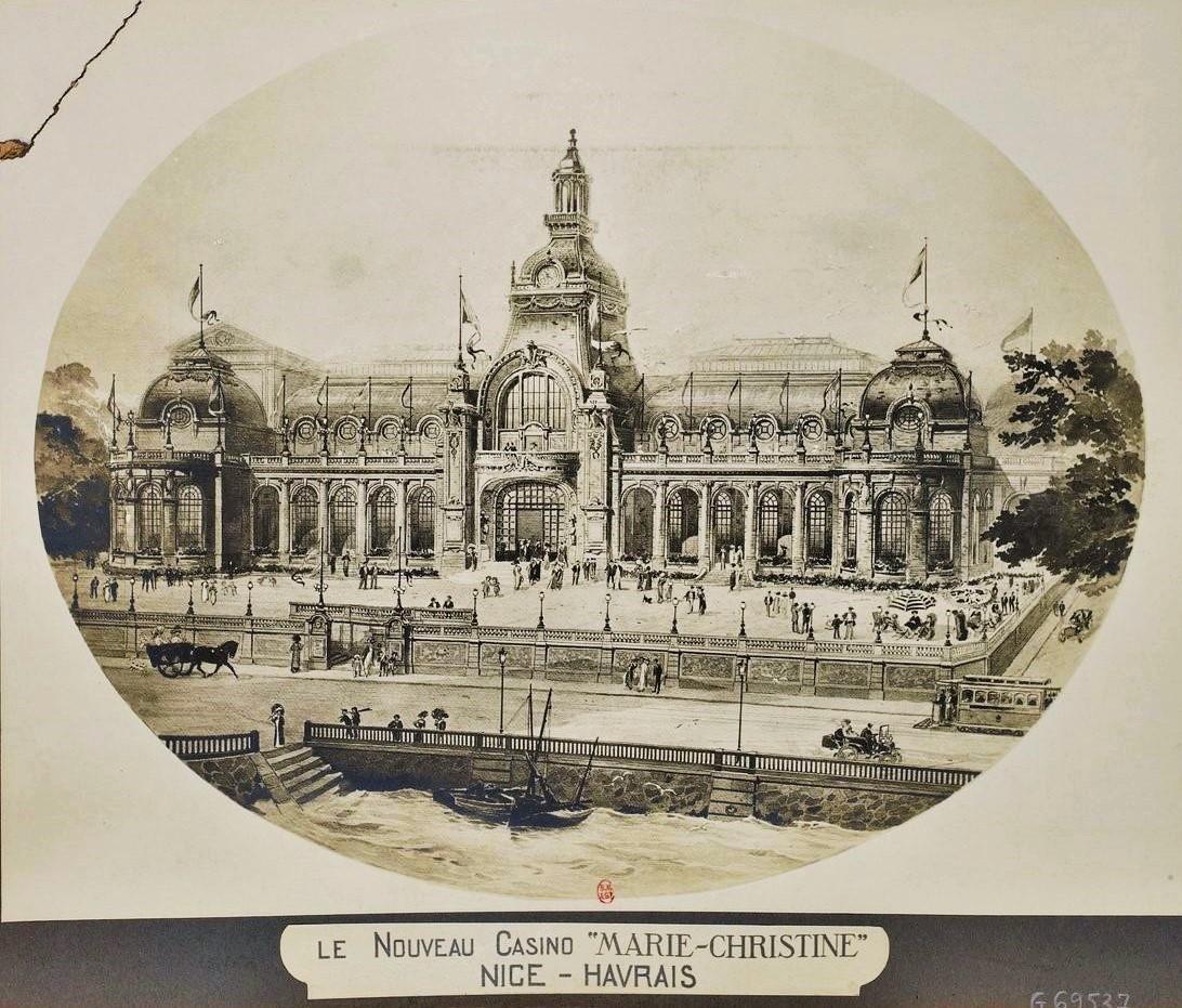 Casino Marie-Christine; elegant living in le Nice-Havrais