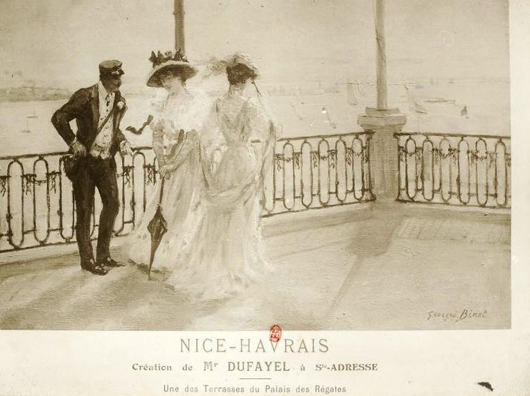 Elegant living in le Nice Havrais