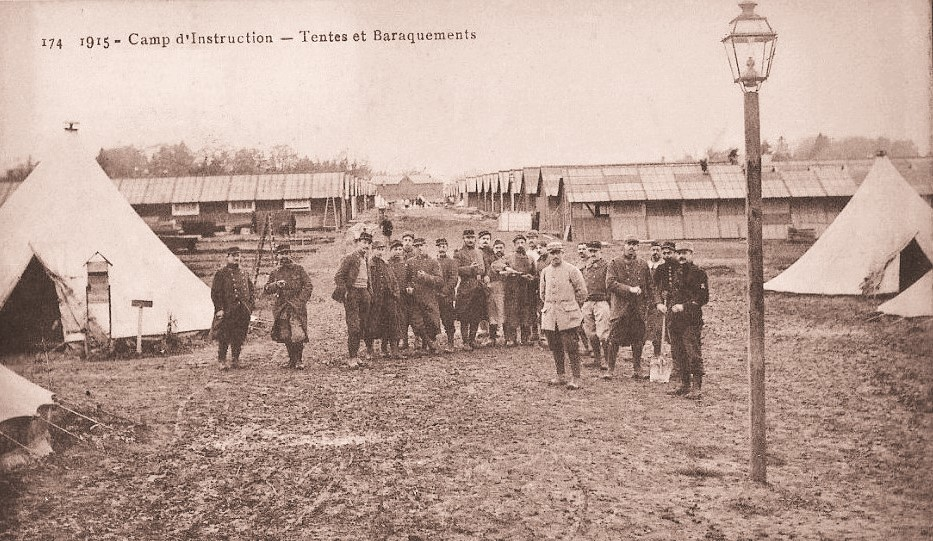 Orne training camp, premiere guerre mondiale, the great war.
