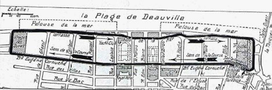 Deauvile 1936 automobile Grand Prix circuit