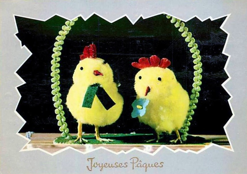 Joyeuses Pâques! Happy Easter!