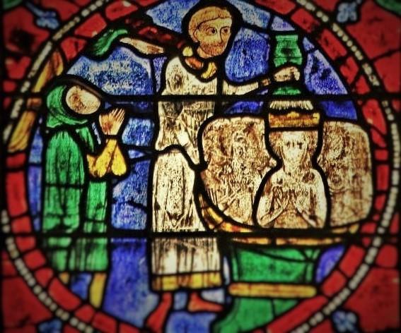 Baptism of careful Corbecenus