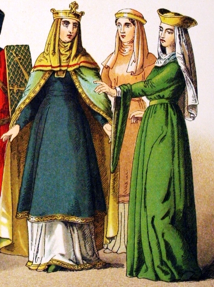 11th century Norman ladies of high rank