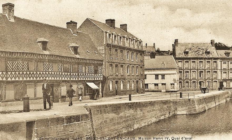 The house that cannibals built, in Saint-Valery-en-Caux