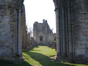 Ruins of Saint Evroul Abbey