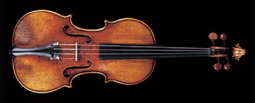 Stradivarius violin made in 1710 known as Camposelice once owned by Duc and Duchess du Camposelice, now the Nippon Foundation
