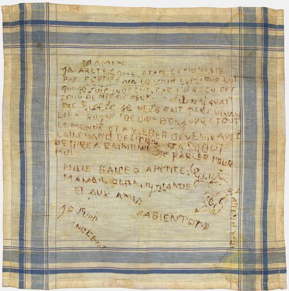 Colbert Marie's handkerchief
