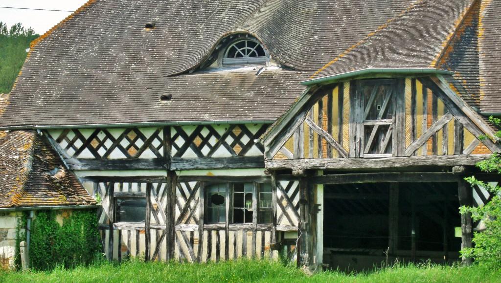 Le Val Gallerand, entrance to L'étable