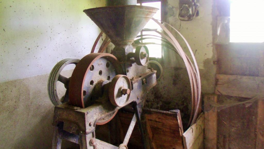 Le Val Gallerand, farm machinery