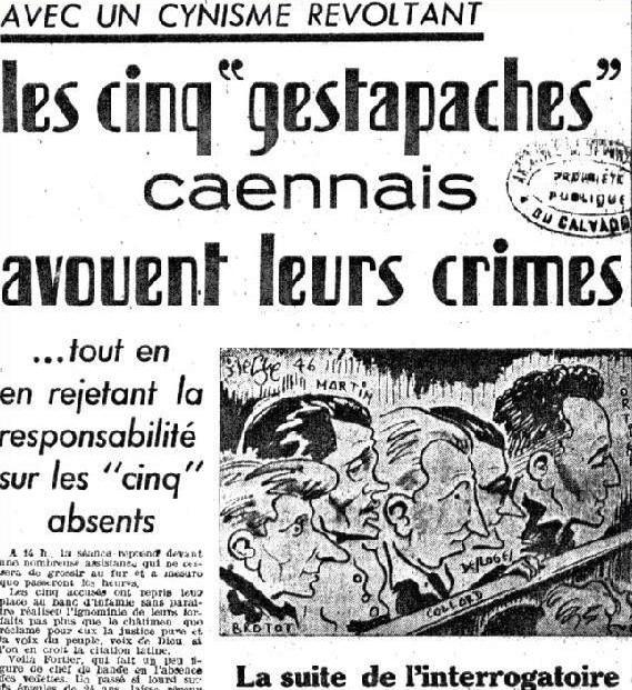Liberte de Normandie du 10 mars 1946