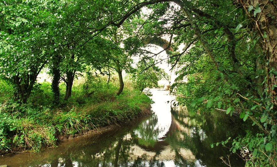 The river Aure at Bayeux