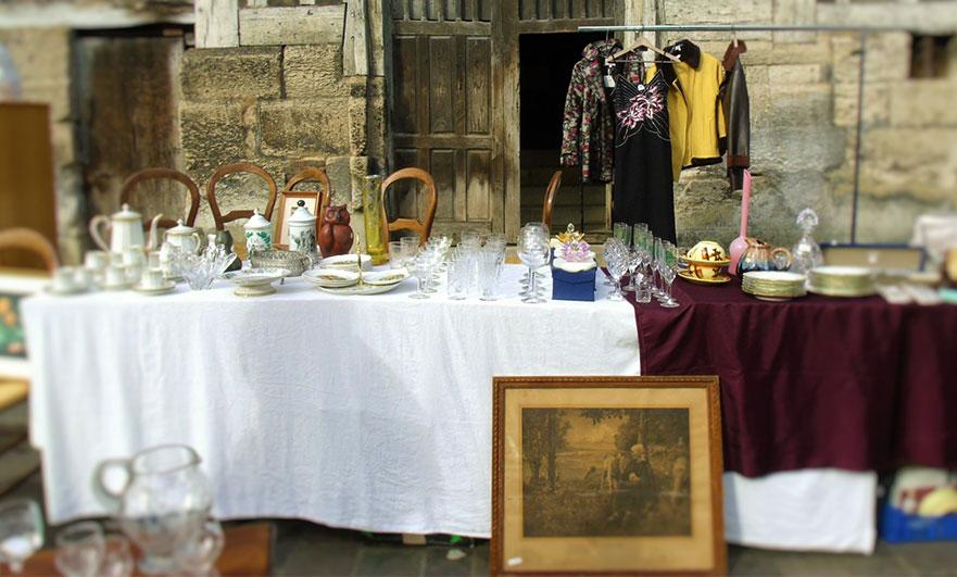 Brocante flea market Honfleur