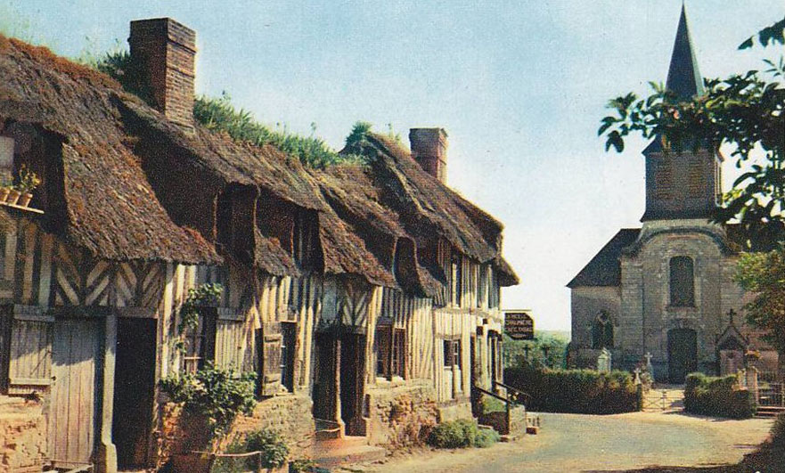 Tourgéville; the diary of a small Normandy village