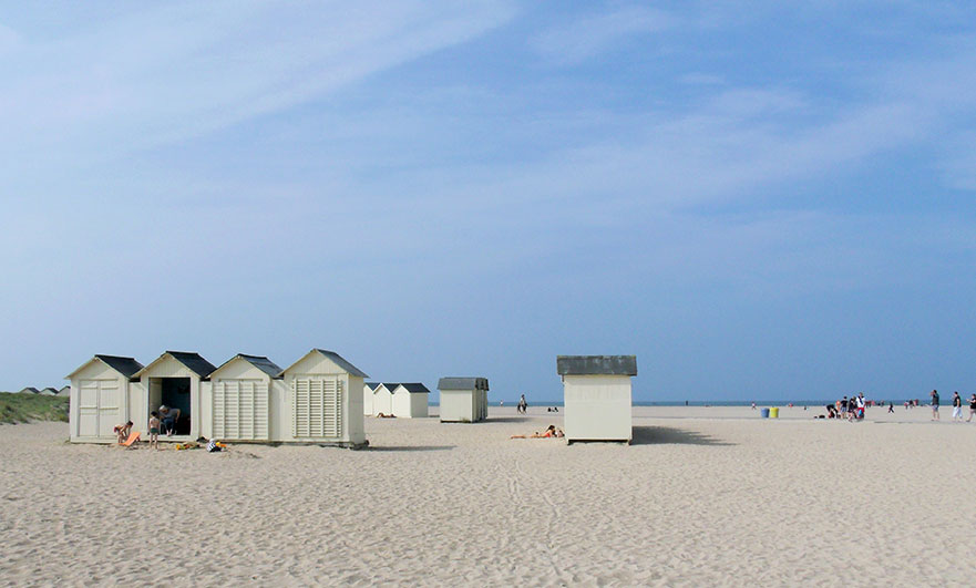 Beach huts at Ouistreham