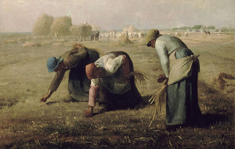 Jean-Francois Millet - The Gleaners (Normandy)