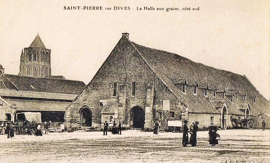 The wooden phoenix of Saint-Pierre-sur-Dives