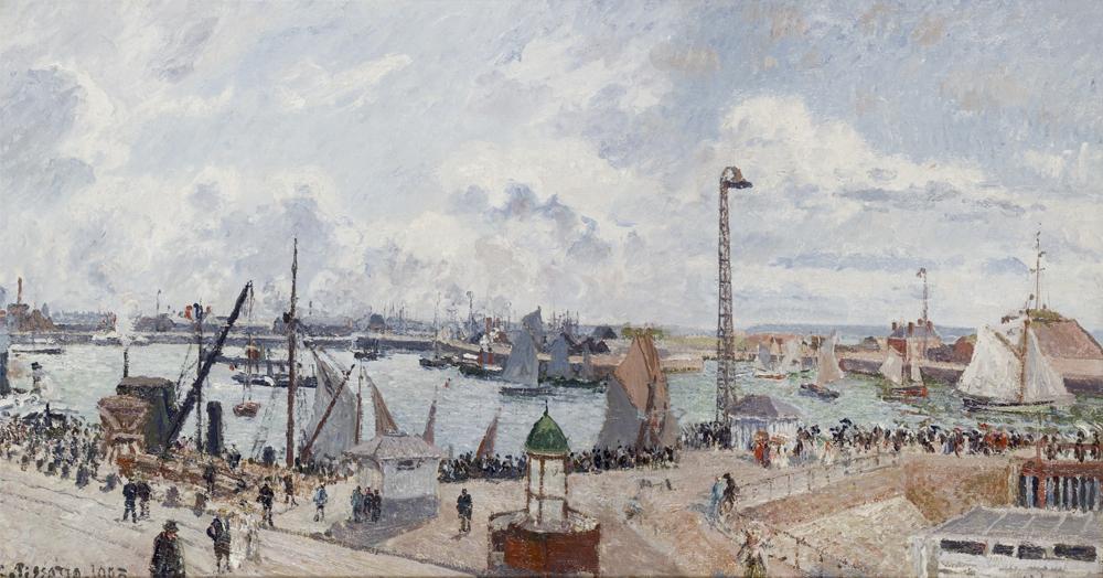Port du Havre, Camille Pissaro