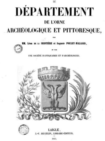Departement de la Orne Archeologique et Pittoresque, 1845