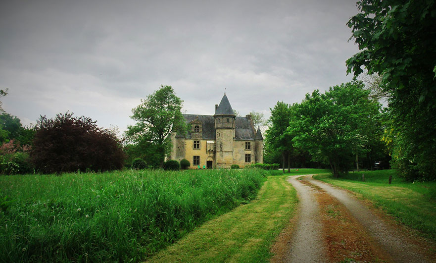 Manoir d'Argentelles, in the Orne, Normandy