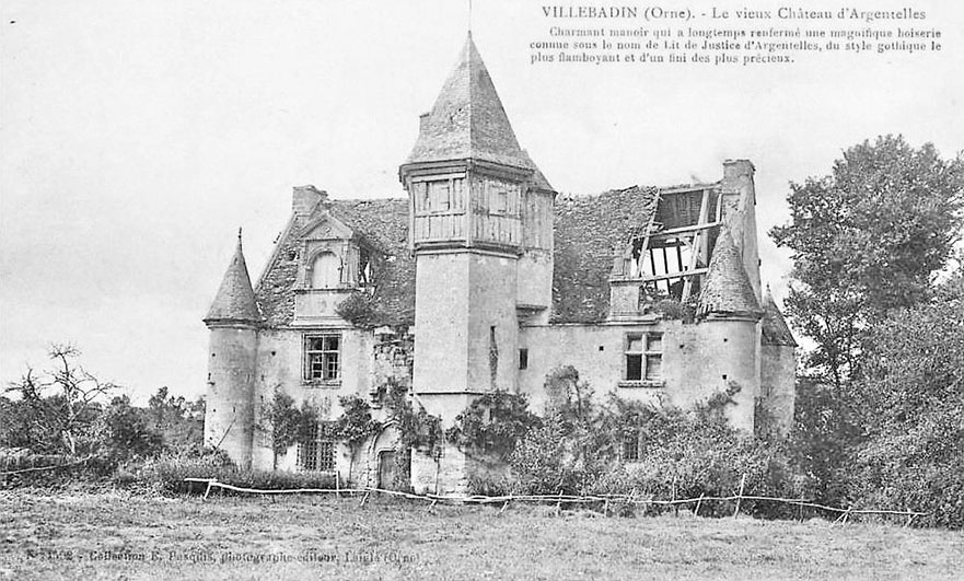 The trouble with historians, at the Manoir d'Argentelles