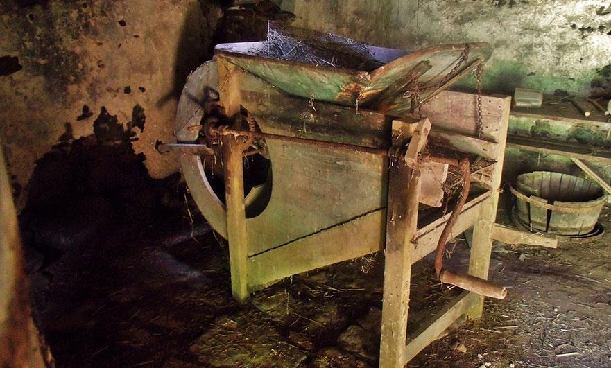 Old Normandy cider press