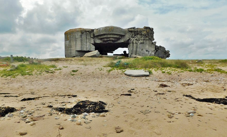 WW2 history is disappearing from Néville-sur-Mer