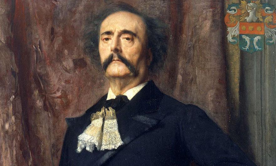 Jules Barbey d'Aurevilly; dandy, snob and writer of dark, very very dark, stories