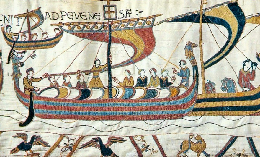 Mora on the Bayeux tapestry