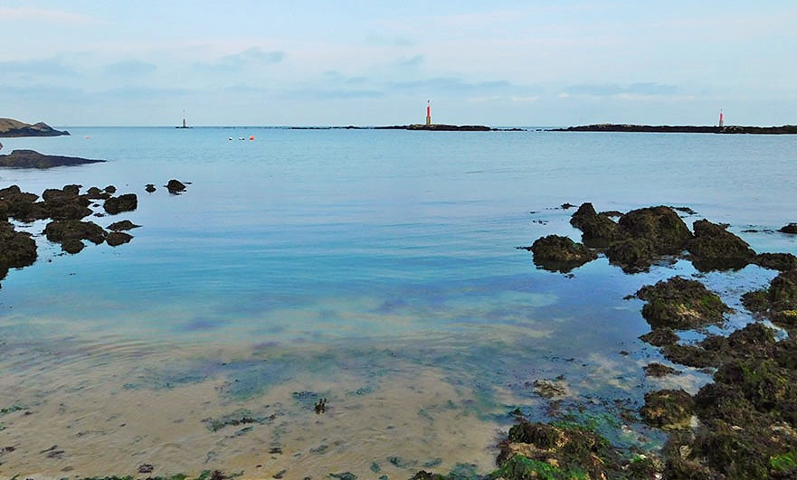 View from Barfleur harbour