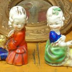 4th Saturday monthly antique brocante market in Deauville