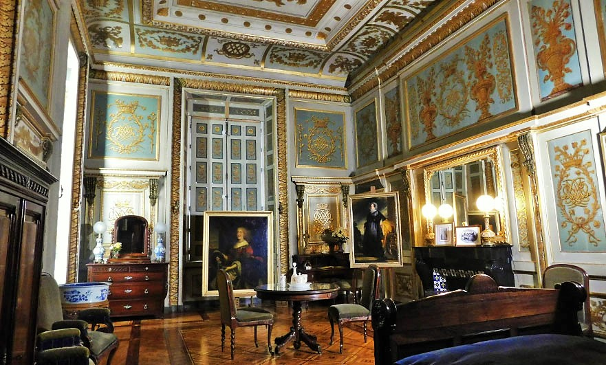 Gracious and grand restored interiors of Le château d'Eu, Seine Maritime