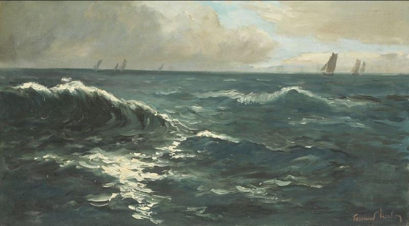 Marine by Fernand Herbo