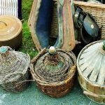 La foire des Andaines brocante walk through the forest, in May 2018