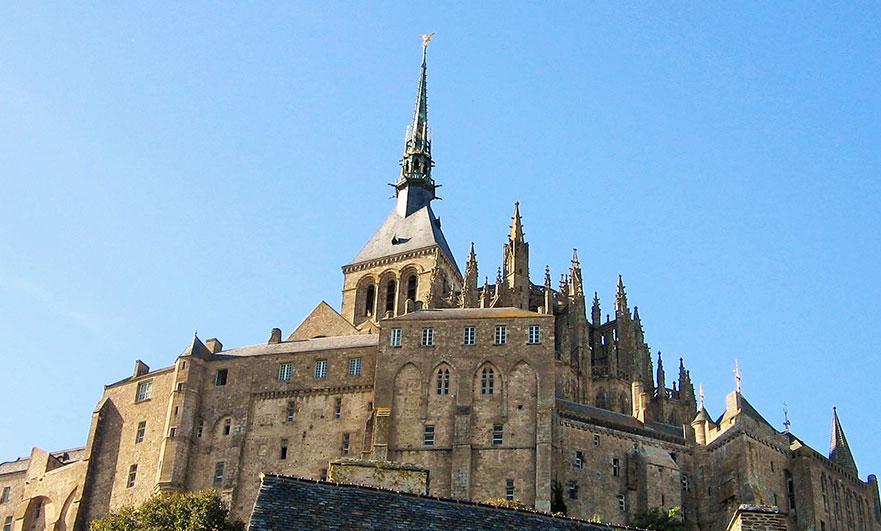 mont-saint-michel-spires