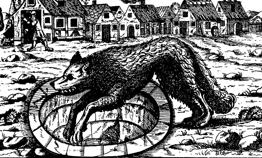 wolf-into-a-pit-engraving
