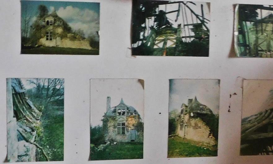 Exhibition of the garden pavilion restoration