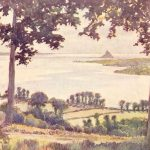 Just a few more watercolours of Normandy by Gordon C. Home – guest artist blogger
