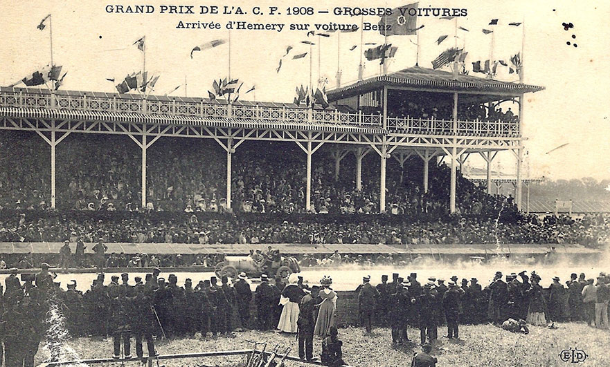 Following heroes; we drive the 1908 French Grand Prix, from Dieppe