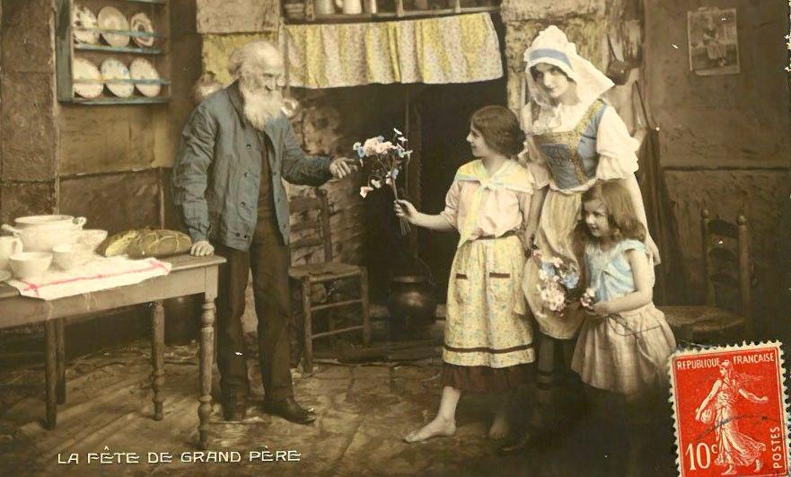 Bonne fête à tous les grand-pères!