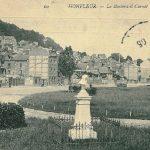 The mystery of disappearing grandeur in Honfleur