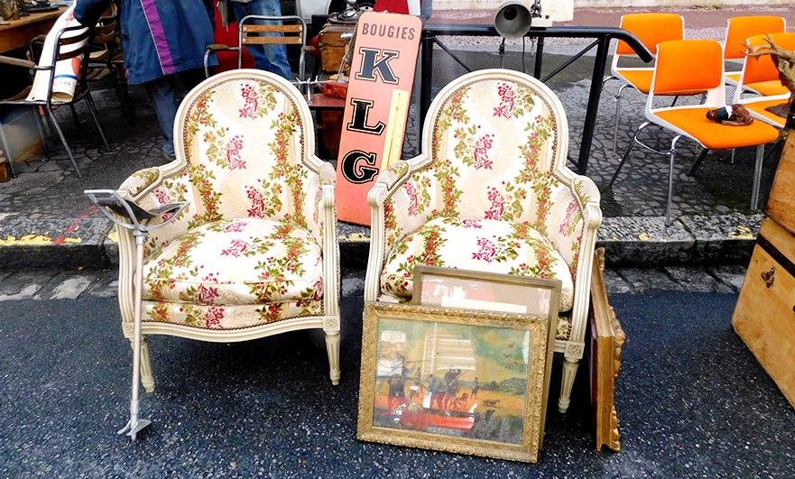 Imitation amongst the vintage Les Andelys Foire à Tout